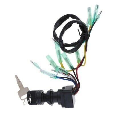 Sponsored Ebay Ignition Switch Key Assy For Yamaha Outboard Motor Control Box 703 82510 43 F9a9 Outboard Motors Outboard Ebay