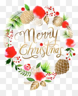 Christmas wreath merry. Pin by pngsector on