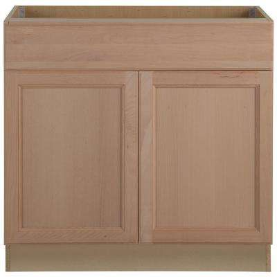 Assembled 36x34.5x24 in. Easthaven Base Cabinet with Drawer ...
