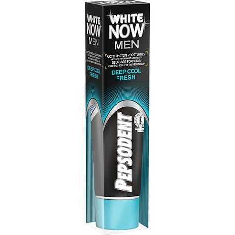 Man toothpaste
