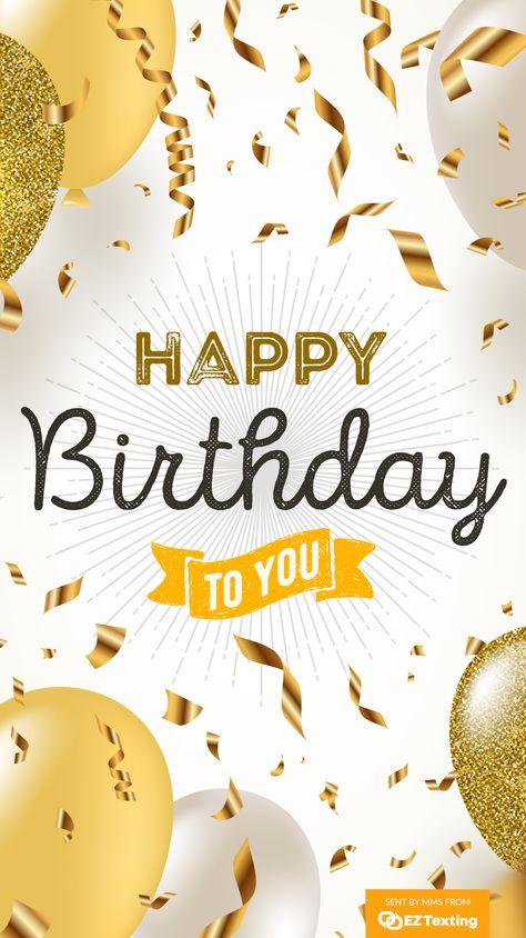 Happy Birthday MMS Templates
