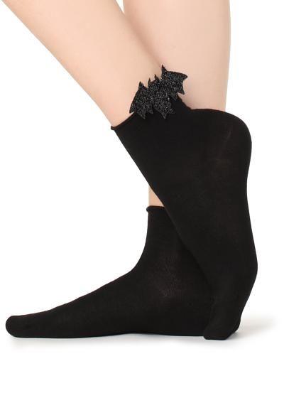 Donne Motivo Cachemire Nero con sopra il Ginocchio Calze Calzini Happy Feet