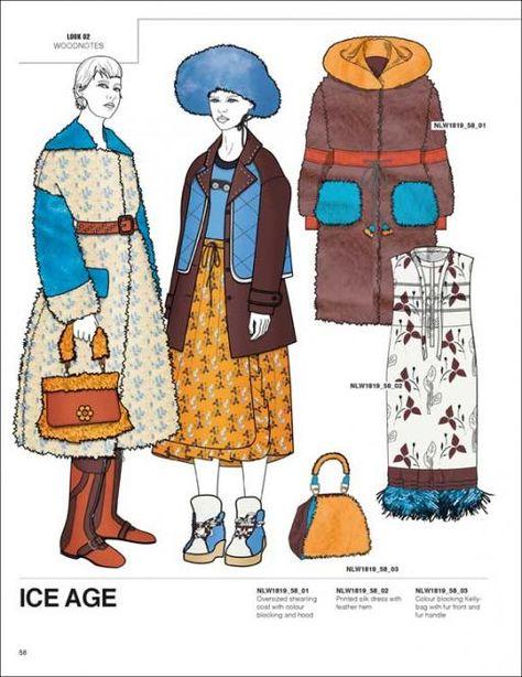 Next Look Womenswear A / W 18/19 Fashion Trends Styling вкл. DVD