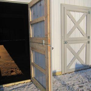Sliding Pole Barn Door Plans Exterior Barn Doors Horse Barn Doors Barn Windows