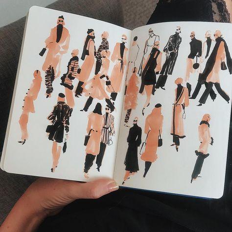 Fashion sketches illustration inspiration 59 New Ideas