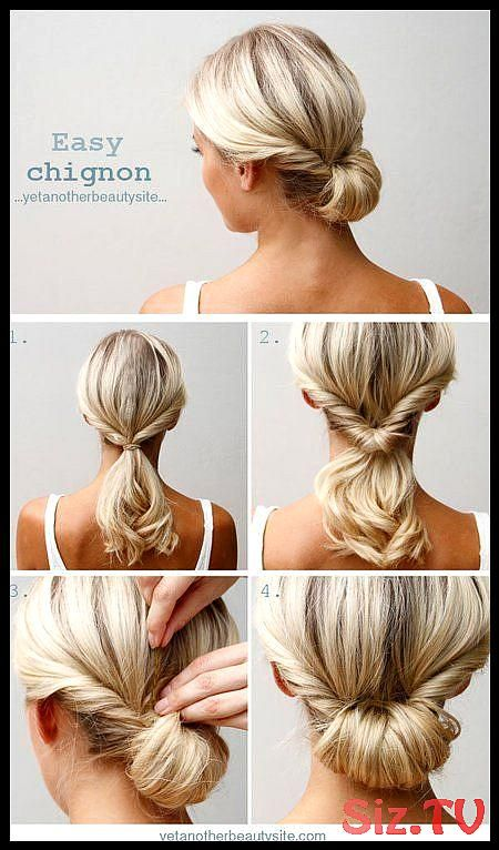 43 Ideas Hairstyles Updo Casual Up Dos Messy Buns The Perfect Messy Bun In 3 Easy Steps Medium Length Hair Styles Nurse Hairstyles Updo Hairstyles Tutorials