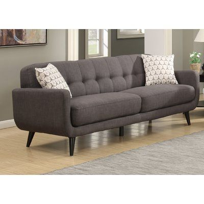 Bring A Dash Of Midcentury Modern Flair To Any Seating Group With This Classic Sofa Featuring Mid Century Sofa Mid Century Modern Sofa Mid Century Living Room