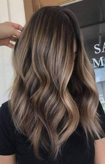 Hair Color Dark Skin Ombre Caramel Highlights 37 Ideas Brown Blonde Hair Hair Styles Hair Color Balayage