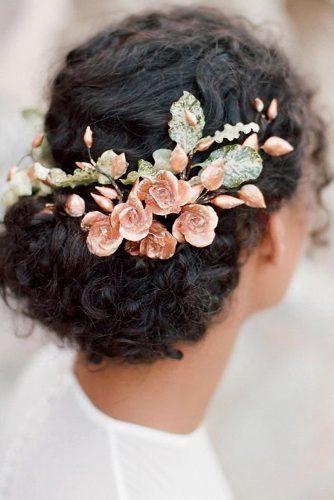 Black Curly Hair Wedding Styles