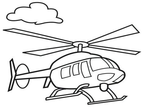 Obrazek Z Policyjnym Helikopterem In 2020 Kolorowanka Darmowe