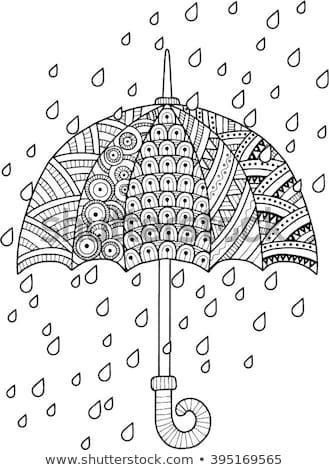 Entdecken Sie Dies Und Millionen Weitere Lizenzfreie Stock Fotos Illustrationen Und Vektorgrafiken Umbrella Coloring Page Spring Coloring Pages Coloring Pages