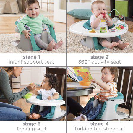 Summer Infant 4 In 1 Super Seat Teal Walmart Com Summer Baby