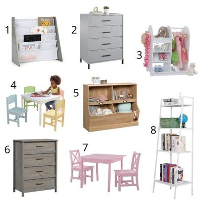 Cute, affordable furniture for kids!  We used and loved #4 for years. 😍 #ad #walmarthome   #LTKhome #LTKstyletip #LTKkids