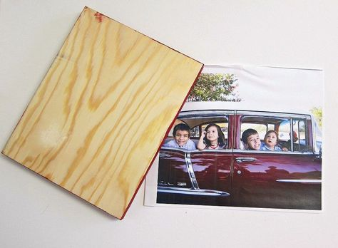 Hometalk :: How to Transfer a Photo to Wood