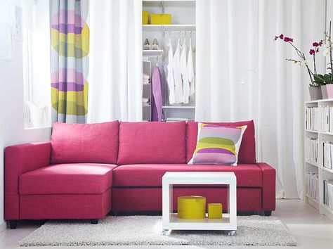Bring the sunshine indoors with bold yellow accents. #IKEA #interior ...