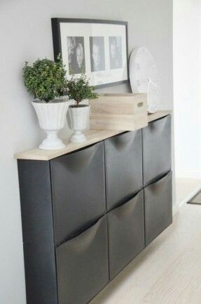 IKEA Trones shoe cabinet DIY hack | Home Sweet | Pinterest | Ikea ...