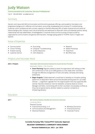 Customer Service CV example | Customer service resume, Cv ...