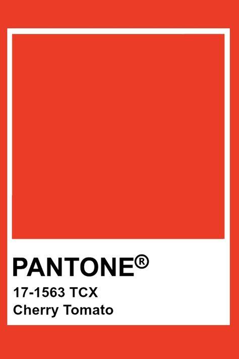 Pantone Cherry Tomato