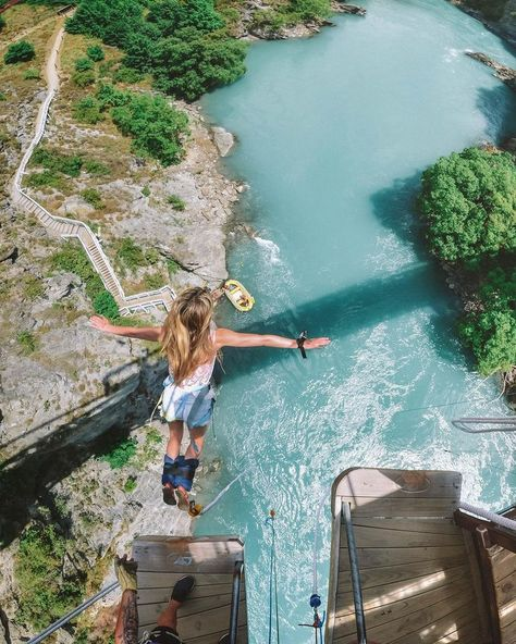 9 reasons adventure travel is great for your mental fitness Adventure Bucket List, Adventure Is Out There, Adventure Awaits, Adventure Travel, E Skate, Bungee Jumping, Beautiful Places To Travel, To Infinity And Beyond, Travel Goals