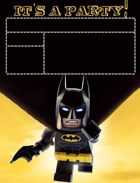 Pin De Yami En Eban En 2020 Invitaciones De Batman