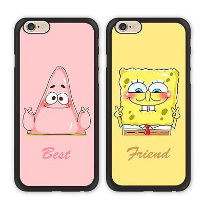 BFF Spongebob Patrick Best Friend Case For iPhone X Xs Max Xr 8 7 6 Galaxy S9 S8 | eBay