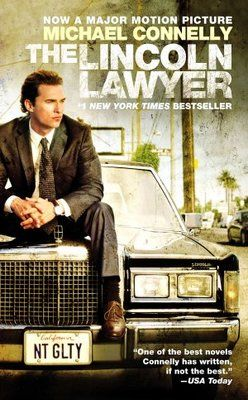 The Lincoln Lawyer Poster Lincoln Lawyer Michael Connelly Novels