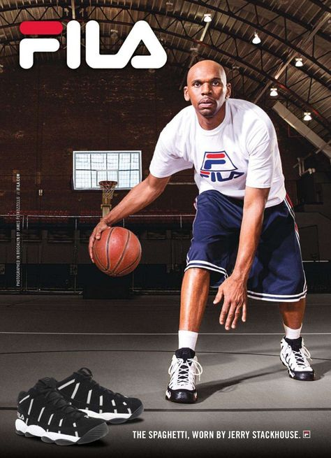 Spaghetti ad featuring Jerry Stackhouse