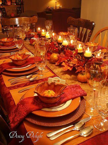 Harvest Table Setting Ideas & Harvest Table Setting Ideas Fall Image ...