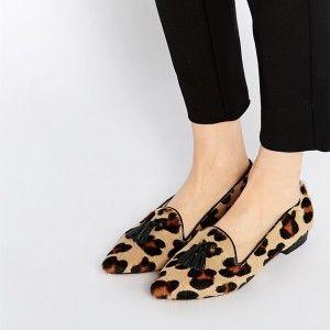 shoes flats, Leopard print flats