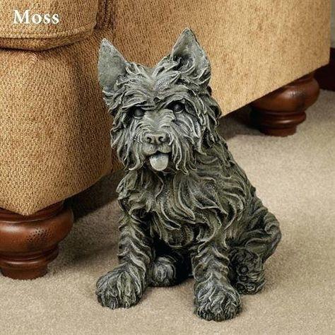 Cairn Terrier Garden Statues Cairn Terrier Sculpture Cairn Terrier