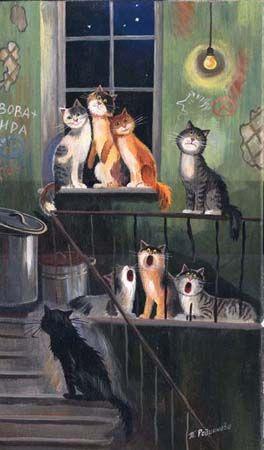 Tatiana Rodionova's Cats