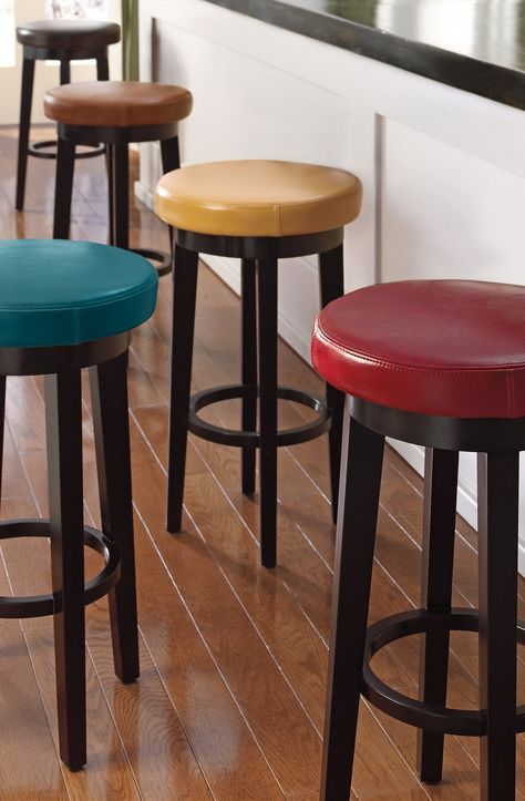 a swivel stool that is as comfortable as it is stylish