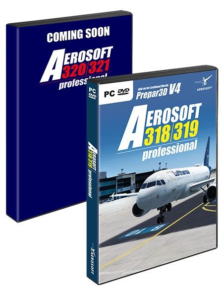 AEROSOFT : A320 Family professional Bundle UPGRADE OFFER: If