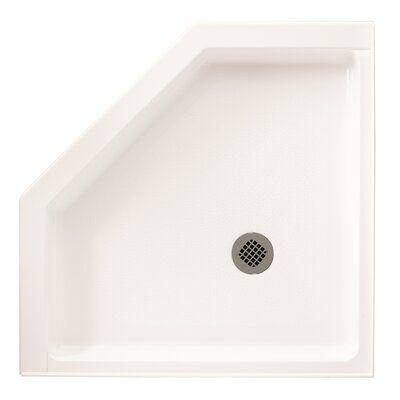 Swan Surfaces Veritek 38 X 38 Triple Threshold Neo Angle Shower