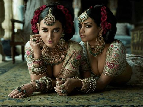 Latest Sabyasachi 2018 Bridal Lehengas Just Took A Massive Sexy Turn