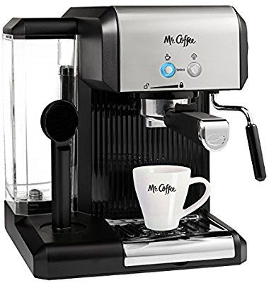 Amazoncom Mr Coffee Café Steam Automatic Espresso And