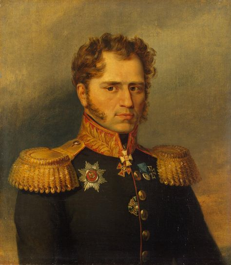 Portrait of Alexander I. Yushkov (1773 - after 1835) - George Dawe