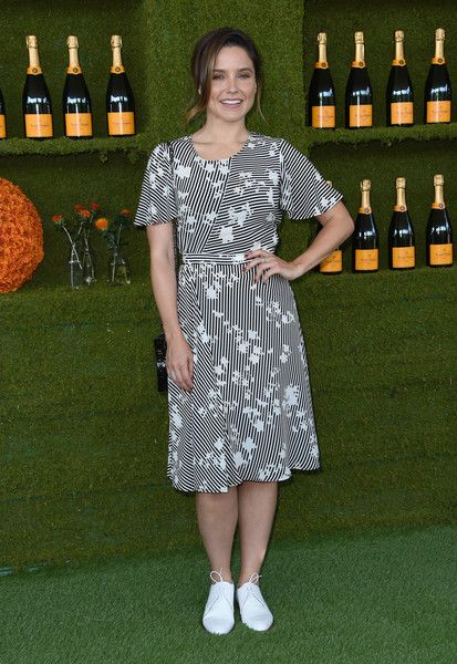 Sophia Bush attends the 8th annual Veuve Clicquot Polo Classic.