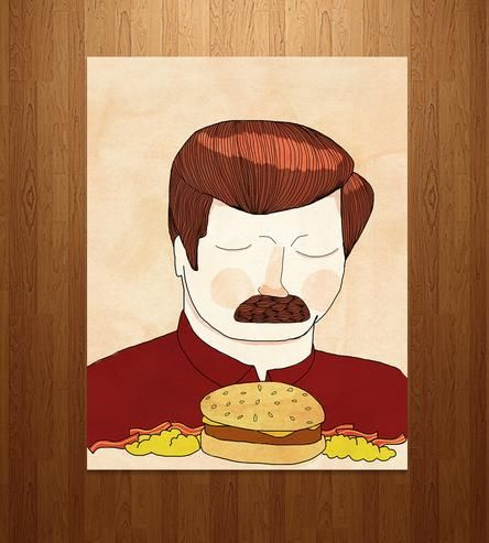 You Had Me At Meat Tornado - Ron Swanson