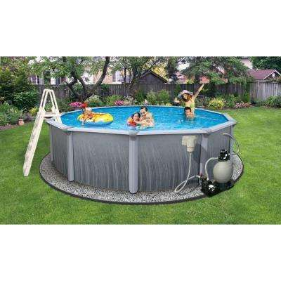Above Ground Pools Pools The Home Depot Round Above Ground Pool Swimming Pools In Ground Pools