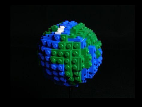 Mini Lego earth How to!