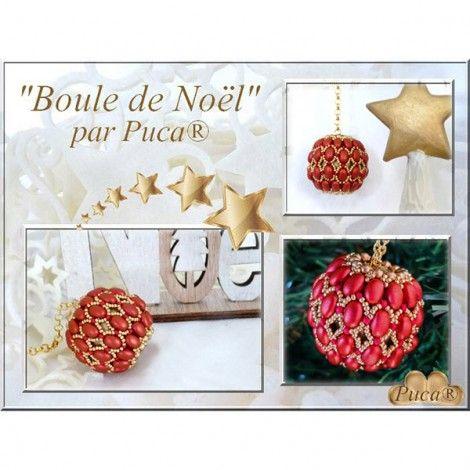 Kit Boule de Noël par Puca® Rouge (x1) Référence 9042 Kit