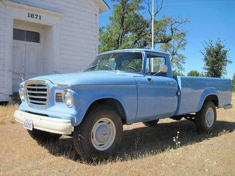 1962 Studebaker Champ - Collector Truck