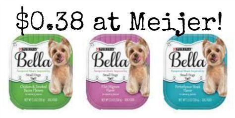 Meijer Purina Bella Dog Food Only 0 38 Dog Food Recipes Food