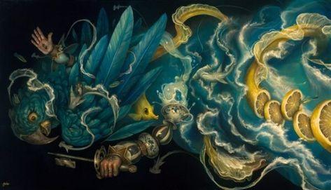 Original acrylic paintings by Greg CRAOLA Simkins — GregSimkinsArt.com