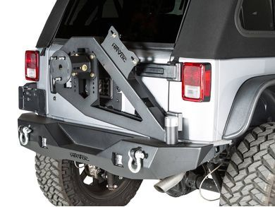 Gen 2 Aftershock Rear Bumper With Hinged Tire Carrier In 2020