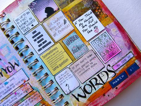 great way to include all those quotes i like into my journal