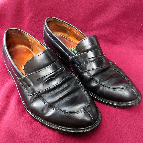promo code e9299 14287 Mens Vintage Nike Air Cole Haan Black Leather Formal Loafers Sz 11M Broken  In  ColeHaan  LoafersSlipOns