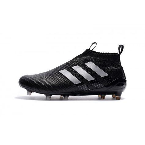 official photos 54d69 a6d81 Nouveau Adidas ACE 17 Purecontrol Terre ferme Noir Blanc, Acheter  Chaussures de football pour Homme, Haute qualité, prix bas, achetez  maintenant, ...