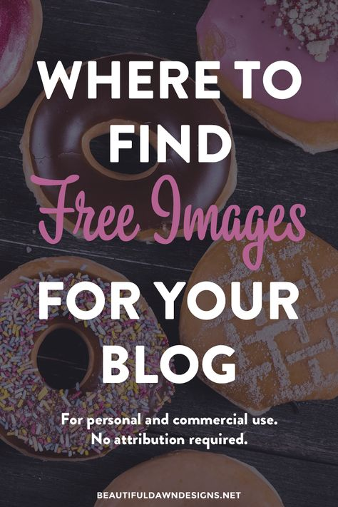 Where to Find Free Blog Images - Beautiful Dawn Designs
